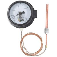 Bimetallic Thermometer  (Electrical Contact Capillary Thermometer) 1