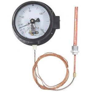 Bimetallic Thermometer  (Electrical Contact Capillary Thermometer)