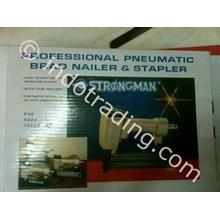 Pneumatic Brad Nailer Stapler Strongman