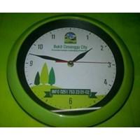Distributor Produksi Souvenir Jam Dinding Diameter 26.5 Cm  3