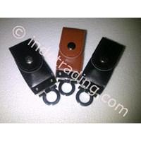 Flash Disk Gantungan Kunci Kulit  Promosi