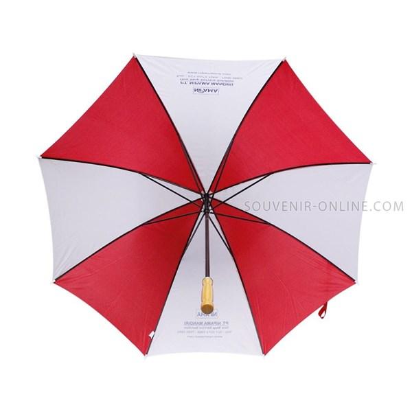 Payung Promosi Golf Merah Putih