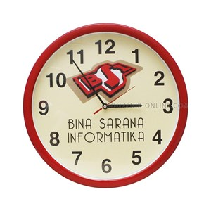 Jual Jam Promosi Ring Merah Logo Bsi Diameter 40 Cm Harga Murah ... 4c14b94e40