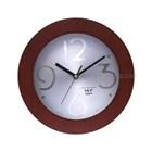 Jam Promosi Bahan Kayu Versailles Mesin Seiko 27 Cm 1