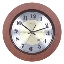 Jam Promosi Bahan Kayu Mesin Seiko - 36 Cm