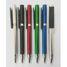 Barang Promosi Perusahaan Pen Warna Kombinasi Model Putar 746