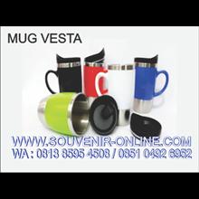 Souvenir Mug Promosi Vesta 450Ml