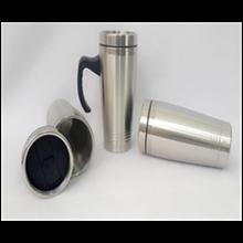 Souvenir Mug Stainless 3 Garis 450Ml