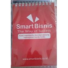 CETAK BUKU ( BOOKNOTE ) SPIRAL SMART BISNIS 10.5 X 15 CM