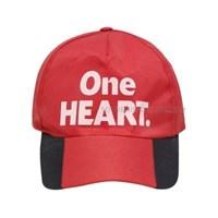Jual TOPI PROMOSI ONE HEART BAHAN SAKURA LOGO SABLON