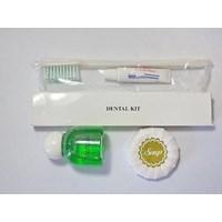 Perlengkapan Mandi Paket Sabun Bulat 25gr Dental Kit dan Shampo 25ml