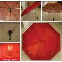 PAYUNG PROMOSI LIPAT 3 MERAH DALAM SILVER HOTEL MELLENNIUM 1