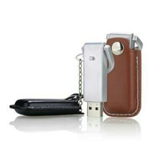 USB FLASH DISK COVER LEATHER WEAR CHAINS