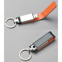 USB FLASH DISK GANTUNGAN KUNCI SEMI KULIT 16 GB