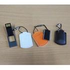 USB FLASH DISK DOMPET  KULIT HITAM PUTIH COKLAT 4 GB  1