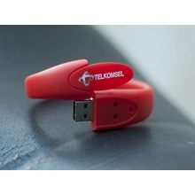 USB FLASH DISK RUBBER GELANG OVAL 8GB