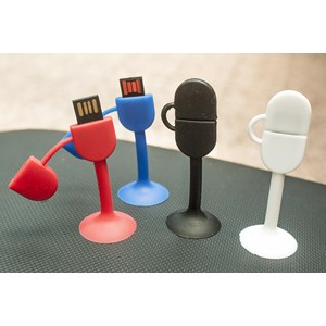 Usb Flash Disk  Sticky Rubber 8 Gb