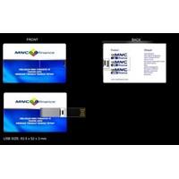 Jual USB FLASH DISK ID CARD KARTU ATM PROMOSI 4GB 2