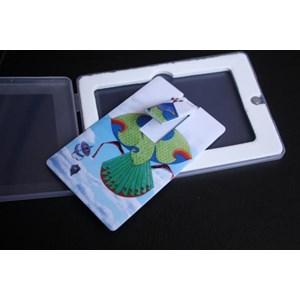 USB FLASH DISK ID CARD KARTU ATM PROMOSI 4GB