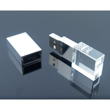 SOUVENIR USB FLASH DISK KRISTAL 4GB