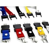 USB FLASH DISK PLASTICK LANYARD 8 GB  Murah 5