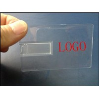 Sell TRANSPARENT CARD USB FLASH DISK 8 GB  2
