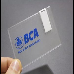 TRANSPARENT CARD USB FLASH DISK 8 GB