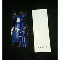 FASILITAS HOTEL RAZOR ( PISAU CUKUR CREAM ) COVER PAPER 1