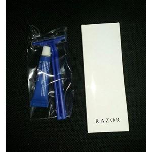 FASILITAS HOTEL RAZOR ( PISAU CUKUR CREAM ) COVER PAPER