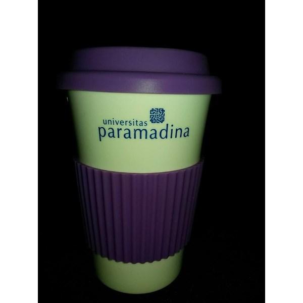 Gelas Promosi Mug Raimbow Porcelain Karet