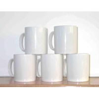 Glass Coating Promosi Grosir Mug Coating Polos 1 dus 48 pcs