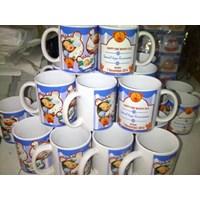 Distributor Glass Coating Promosi Grosir Mug Coating Polos 1 dus 48 pcs  3