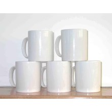 Glass Coating Promosi Grosir Mug Coating Polos 1 dus 48 pcs