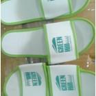 Amenities restaurants and cafes hotel villa souvenir sandal white spon list green 4 mm 2