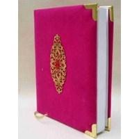 Cetak BUku Yasin Bludru Pink Siku Emas HVS 480 Halaman
