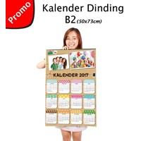 CETAK Kalender Dinding B2 1 lembar AC 260gr