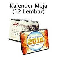 CETAK KALENDER MEJA 12 LEMBAR AC 260gr