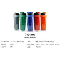 Kerajinan Plastik - Produksi Tumbler daytona Insert Paper 450ml