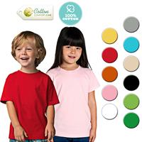 Barang Promosi Perusahaan Kaos Polos T-Shirt ANAK / KIDS COTTON COMBED 24s Murah 5
