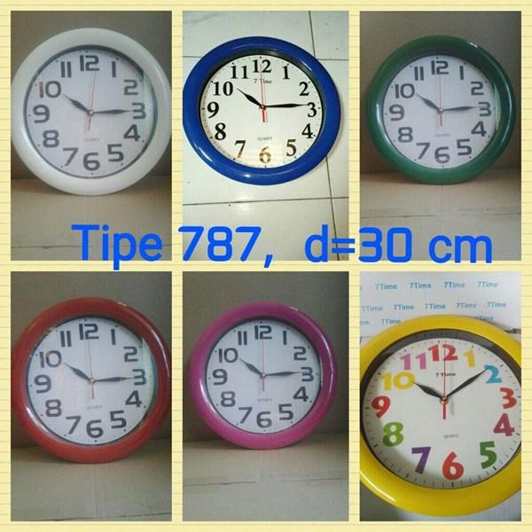 Jam Dinding Promosi 30 cm Free Ongkir Pulau Jawa