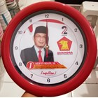 Jam Promosi Partai Gerindra Merah 30 cm  1