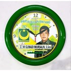 Souvenir Jam Warna Hijau  Partai PBB 30 cm  1