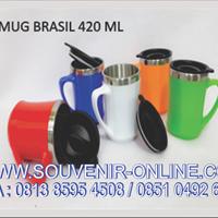 mug brasil 450 ml promosi drinkwere terbaru