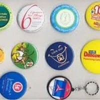 Jual baru promosi pin berlogo
