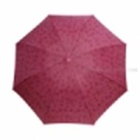 Payung Lipat Corak Basah
