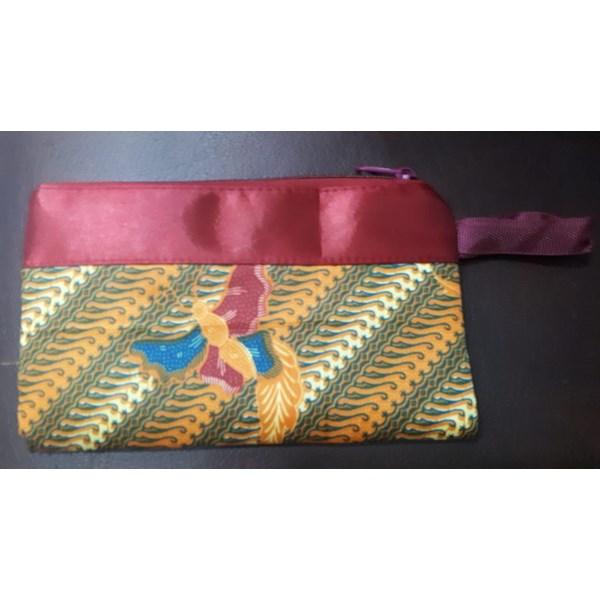 pouch batik motif campur