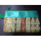 Pouch songket Resleting  4
