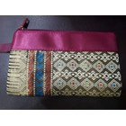 Pouch songket Resleting  2