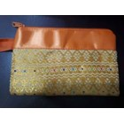 Pouch songket Resleting  1