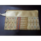 Pouch songket Resleting  3